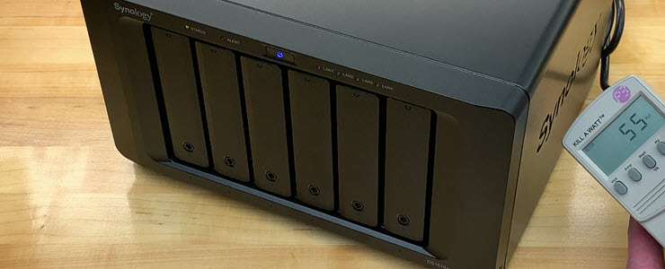 Synology DiskStation DS1618+ NAS First Look featuring 10GbE
