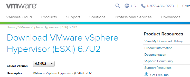 VMware vSphere 6 7 Update 2 is now generally available for