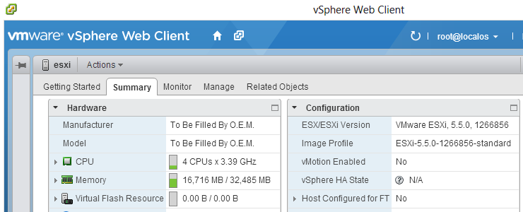 Build your own VMware vSphere Datacenter in under an hour with the
