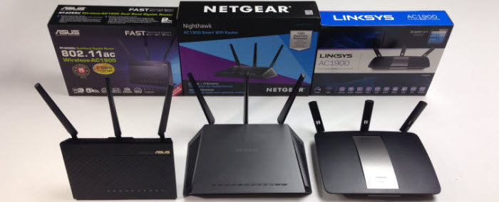 Firsthand experience with ASUS RT-AC68U, Netgear R7000, and Linksys