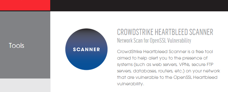 CrowdStrike Heartbleed Scanner finds my vulnerable VMware