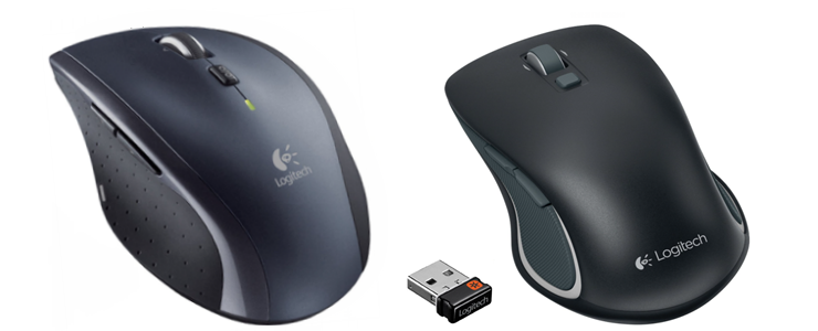 Logitech M705 and M560 mice offer smooth scrolling and