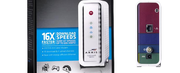 Motorola Arris SB6183 16 Channel DOCSIS 3 0 Cable Modem