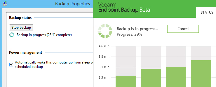 Veeam Endpoint Backup FREE has been released, extensive testing