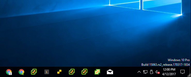 How to show Windows version and build number on your desktop