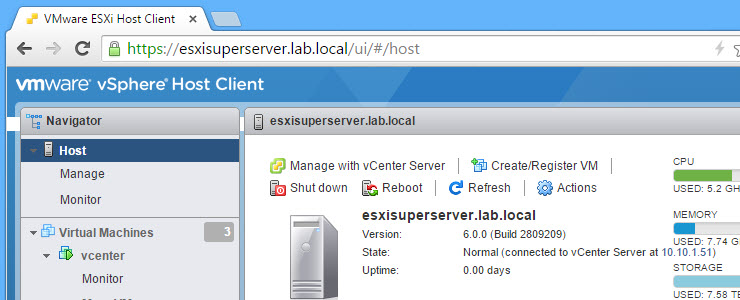 Faster HTML5 future for VMware vSphere Web Client? ESXi