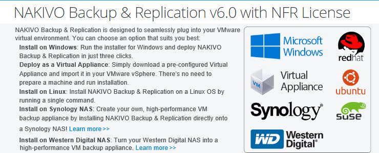 NAKIVO Backup & Replication 6 0 VMware appliance is an easy