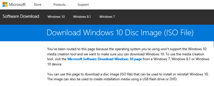 Download Windows 10 Anniversary Update Disk Image (ISO File) for