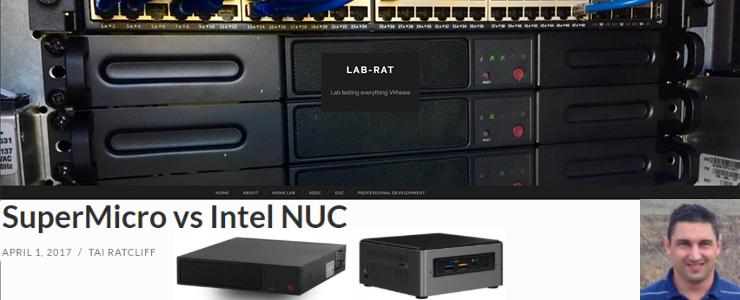 SuperMicro vs Intel NUC