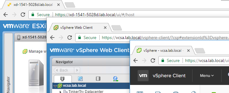 How to import your VCSA certificate so ALL VMware vSphere browser