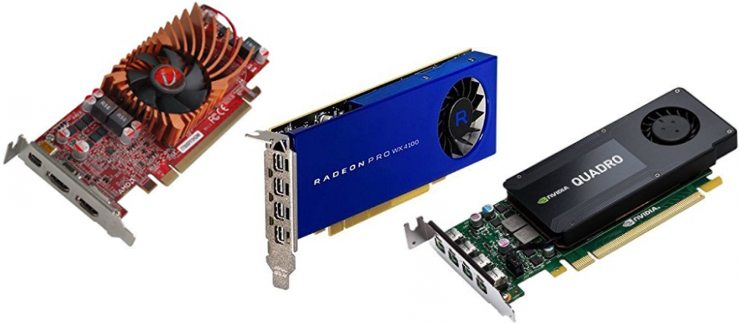 Supermicro SuperServer Workstation Graphics Card selection