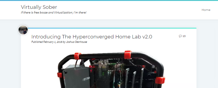 Xeon D home lab success stories | TinkerTry IT @ Home